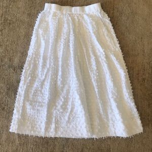 J crew white long dress
